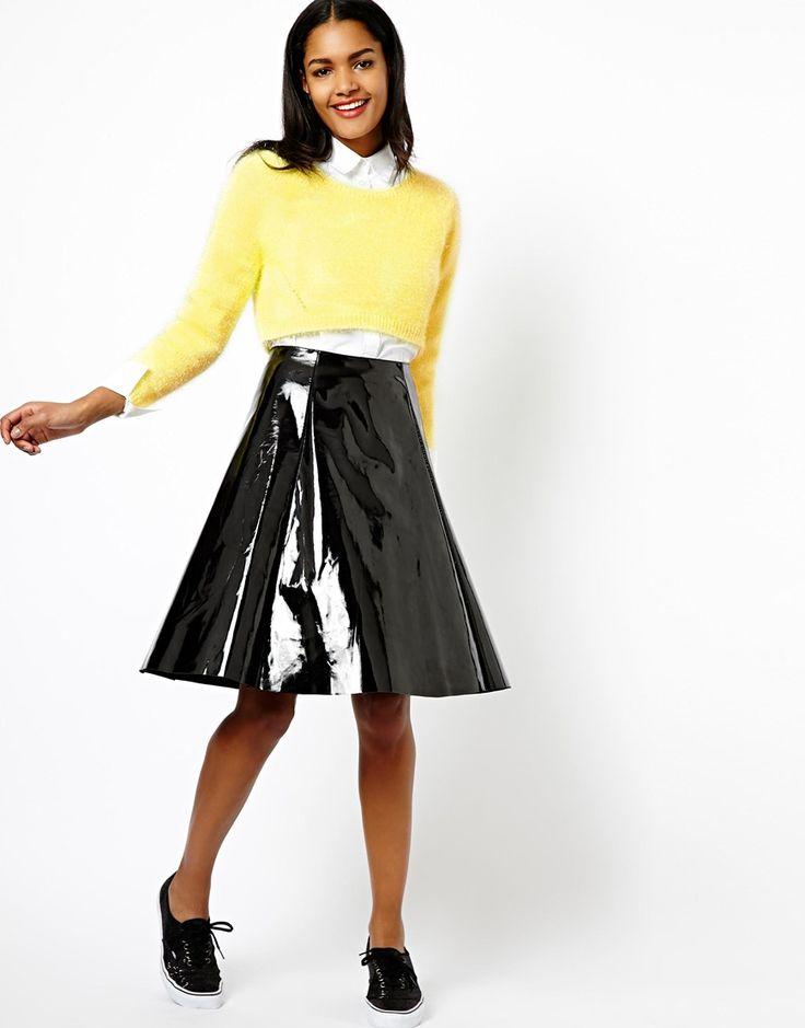 Styling-Tipps für kurze Pullover