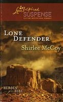 Shirlee McCoy is an AMAZING author. Her books aren't too scary,but always have me at the edge of my seat.