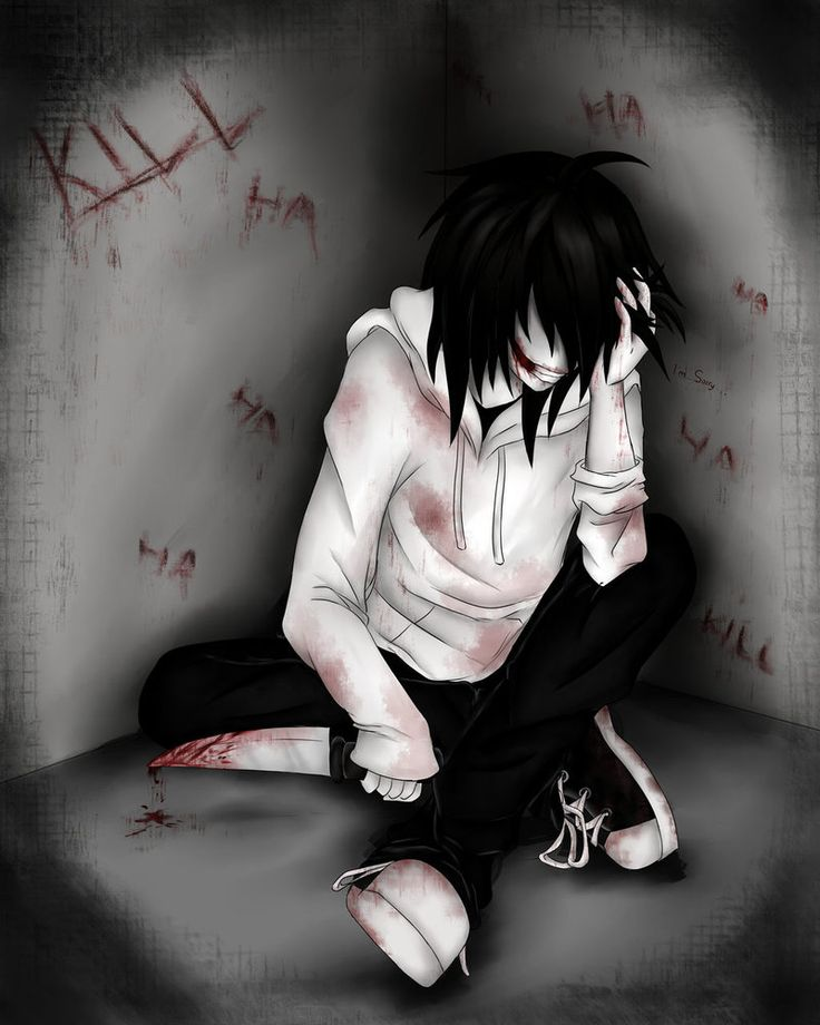 saw the speed art on youtube and thought it was cool Jeff The Killer :iNSaNiTY: by Ren-Ryuki