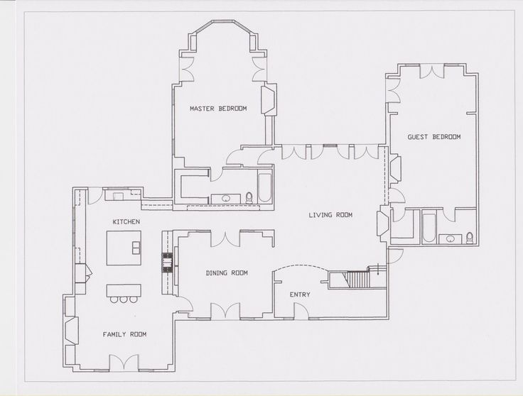 Something 39 s gotta give house plan google search floor for Floor plan search