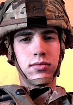 Army CPL Todd L. McGURN, 20, of Riverside, California. Died November 25, 2017, while supporting Operation Inherent Resolve. Assigned to 1st Battalion, 6th Infantry Regiment, 2nd Armored Brigade Combat Team, 1st Armored Division, Fort Bliss, Texas. Died as a result of a non-combat related incident in Baghdad, Iraq. The incident has been placed under investigation.