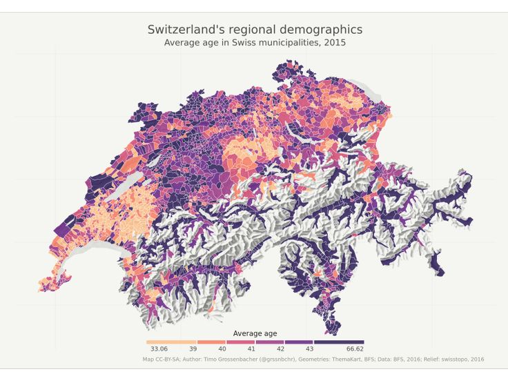 Combine choropleth and raster maps