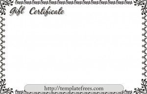 Free Printable Certificate Borders Template for Microsoft Word