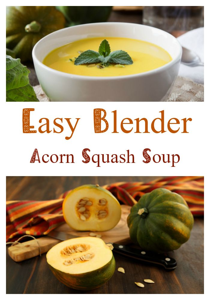 Nutribullet Acorn Squash Soup Recipe Nutribullet Recipes