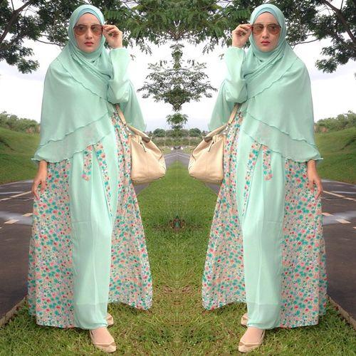 Model Busana Hijab Syar'i Modis Terbaru