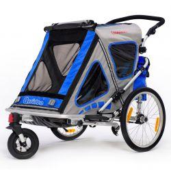 Qeridoo Speedkid2, 399,95€. Speedkid2 polkupyörän peräkärry on todellinen jokapaikan kärry. Kärryä voidaan käyttää yhden tai kahden istuttavana, joten voit ottaa myös ystävien lapsia kyytiin. Pehmustettu istuinalusta ja säädettävä niskatuki tekevät matkustamisesta mukavaa ja turvallista. Ilmainen toimitus. #polkupyöränperäkärry