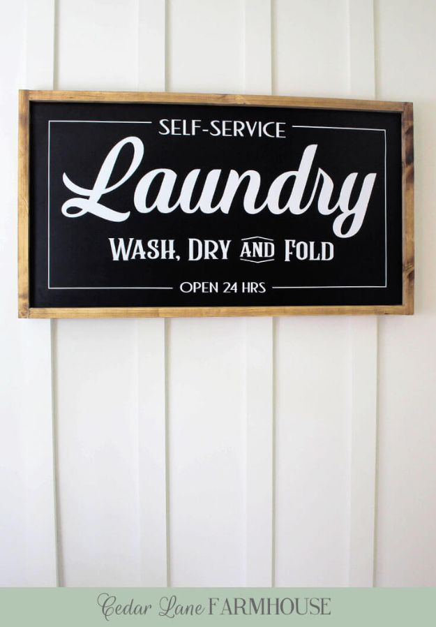 50 Diy Signs To Make For Your Home Laundry Room Signs Laundry