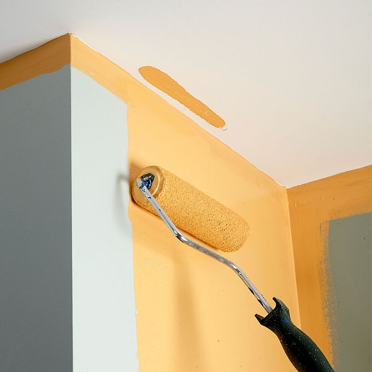 Bumping the Ceiling: One second of inattention is all it takes to bump the ceiling with the roller and create a troublesome touch-up job. You can avoid this problem by rolling on a horizontal strip of paint parallel to the ceiling first. Then roll vertically up to the horizontal strip. The 9-in.-wide strip of paint along the ceiling will give you a nice buffer zone.