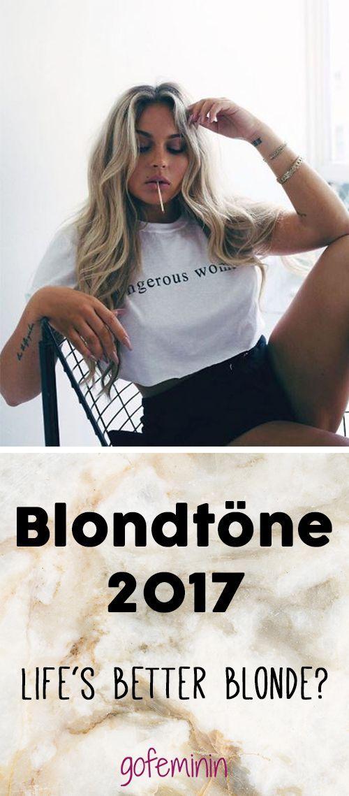 Ob Blonde mehr Spaß haben, wissen wir nicht, aber eins können wir euch sagen: Blond ist Trend! #beautyhairstyles
