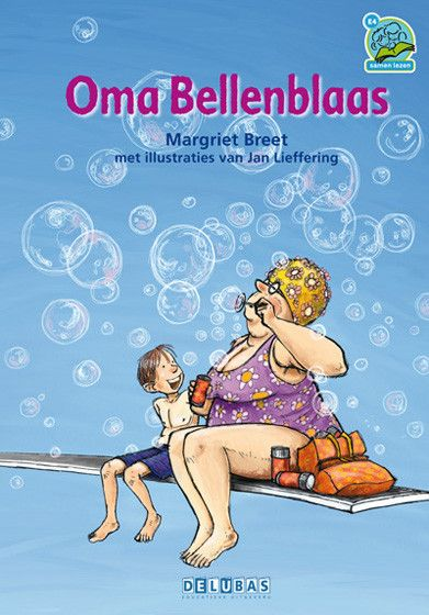 Samenleesboeken 4 oma bellenblaas. Voor kinderen met leesproblemen werkt het superfijn om samen te lezen. In de samenleesboeken van Delubas zijn er twee leesniveaus, zodat kinderen op hun eigen niveau kunnen meelezen en toch is het verhaal niet kinderachtig. Oma Bellenblaas is onze favoriet.