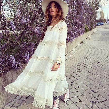 Madame de Rosa wearing our Plenty dress. #mesdemoisellesparis #SS2016