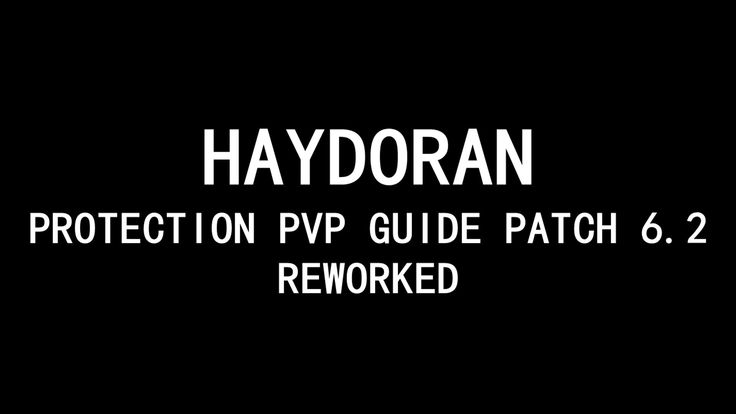 cool Haydoran: Prot Warrior PvP Basic Guide Patch 6.2 (Reworked)