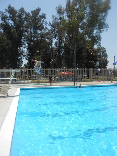 Swimming lessons at Ford Park Pool Bell Gardens Back in the