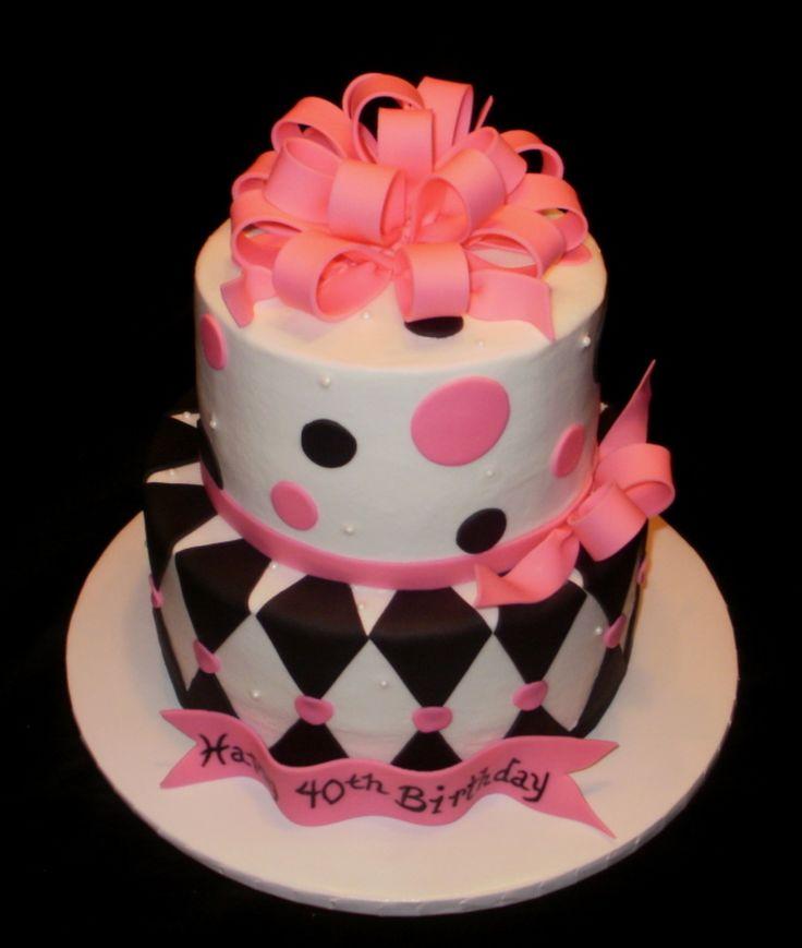 40th birthday 40th birthday cakes chocolate chip cake