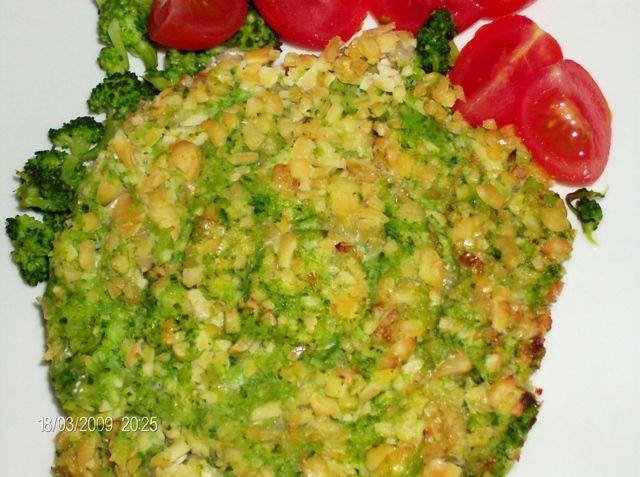 burger di soia con broccoletti