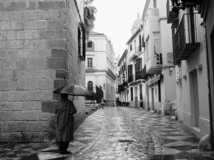 Rainy Malaga