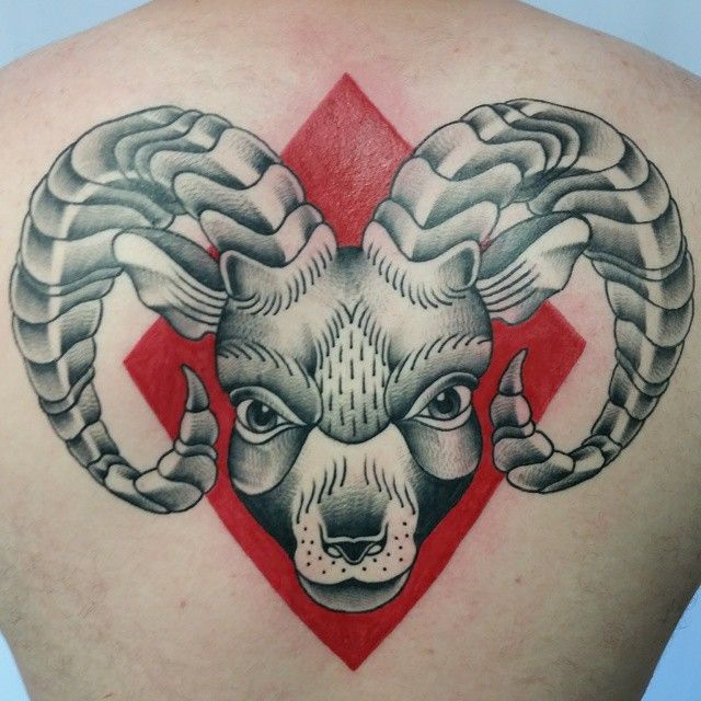 35 Creative Aries Symbol Tattoo Designs - Do You Believe in Astrology?