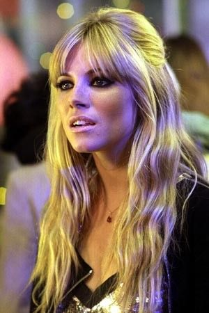 love her long hair with bangs, want this someday. GROW FRO GROW                                                                                                                                                     More