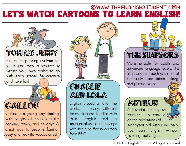 Cartoons: The Secret Weapon for Learning English