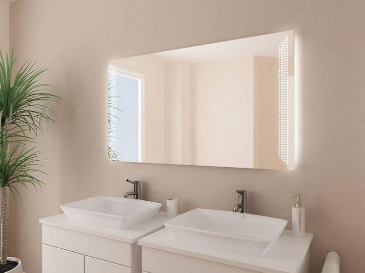 Vintage Design Badspiegel mit LED Beleuchtung Dieser dekorative Spiegel mit Beleuchtung rechts und links der speziell f r Sie gefertigt wird wird