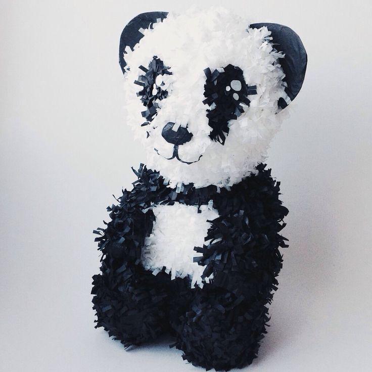 Piñata Animales - Oso Panda - panda Bear Piñata