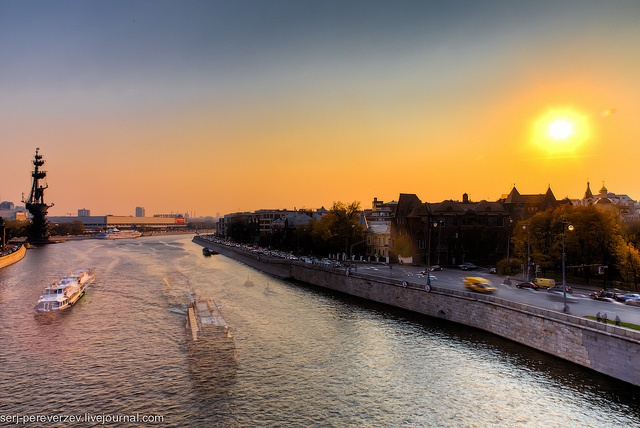 Moscow River, Moscow