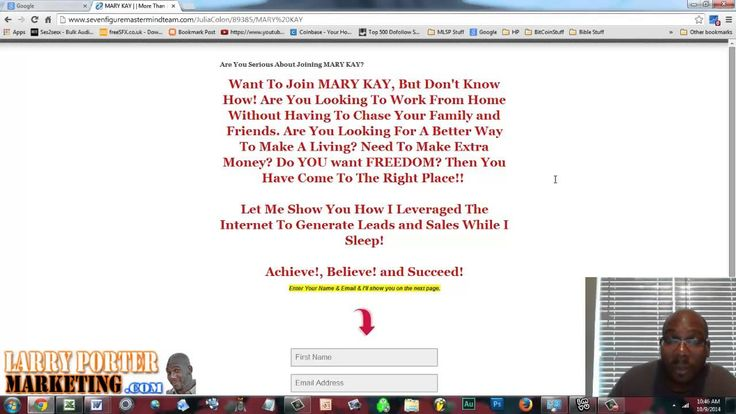 Forget Using Mary Kay Business Cards | ATTRACT MARY KAY Leads Online! [F...