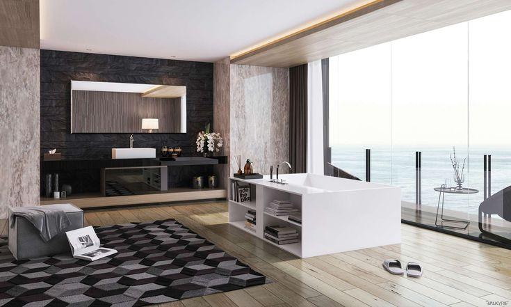 Роскошные ванные комнаты http://www.sk-goldenhome.ru/blog/roskoshnye-vannye-komnaty/