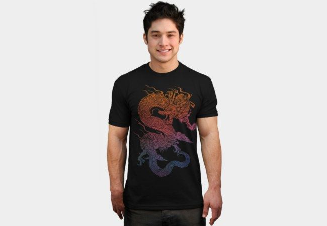 Fire Dragon T-Shirt - Design By Humans