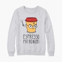 Sweat harry potter espresso patronum - bichette.co