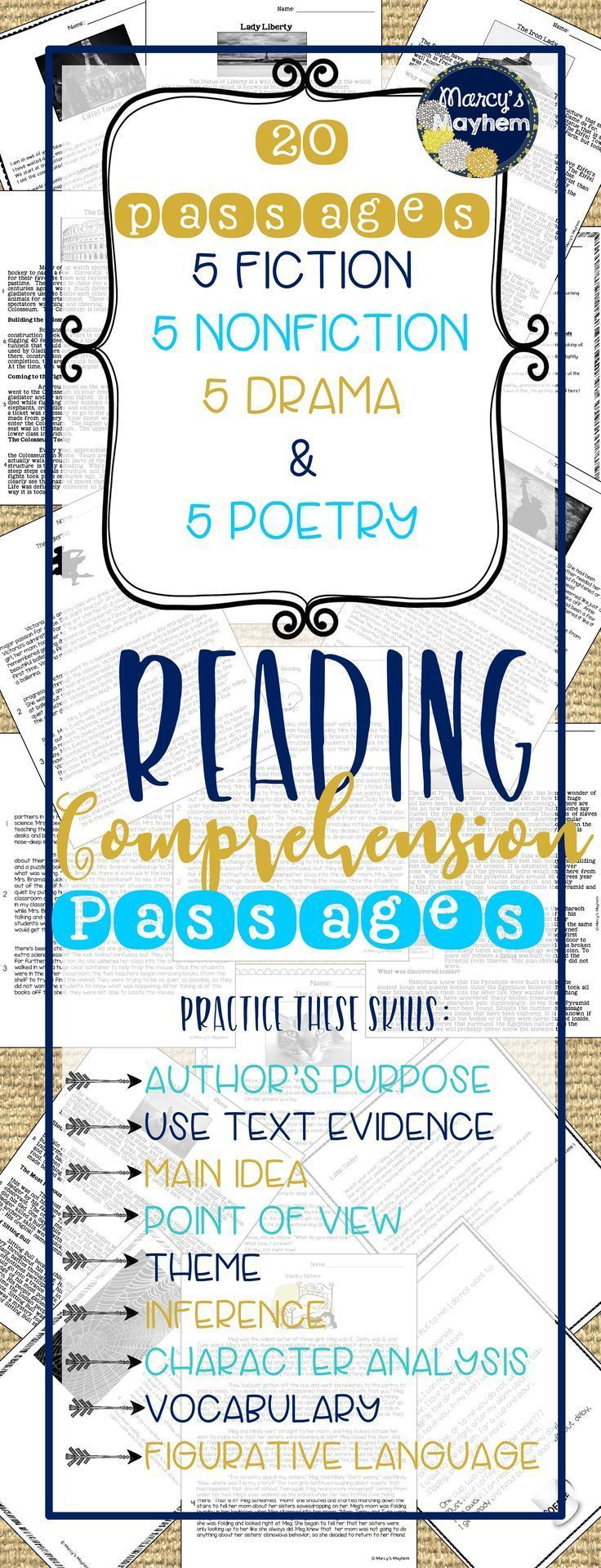 84 best short reading comprehension passages images on pinterest reading comprehension guided. Black Bedroom Furniture Sets. Home Design Ideas