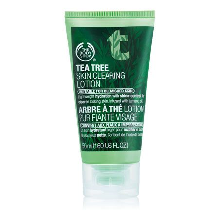tea tree face lotion...perfect under make up or as a night treatment