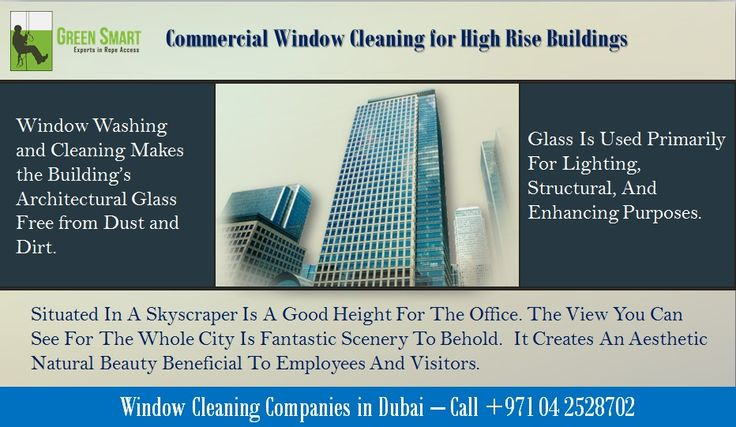 Window Washing and Cleaning Makes the Building's Architectural Glass Free from Dust and Dirt. For best window cleaning companies in Dubai,please visit here:http://greensmarttechnical.com/rope-access/