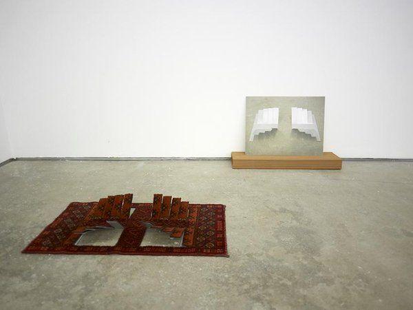 Oscar Abraham Pamon, Red Sculpture, 2014