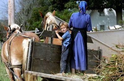 """Hay Quaker: """"Let your life be modest~ Amish Rules of a Godly L..."""