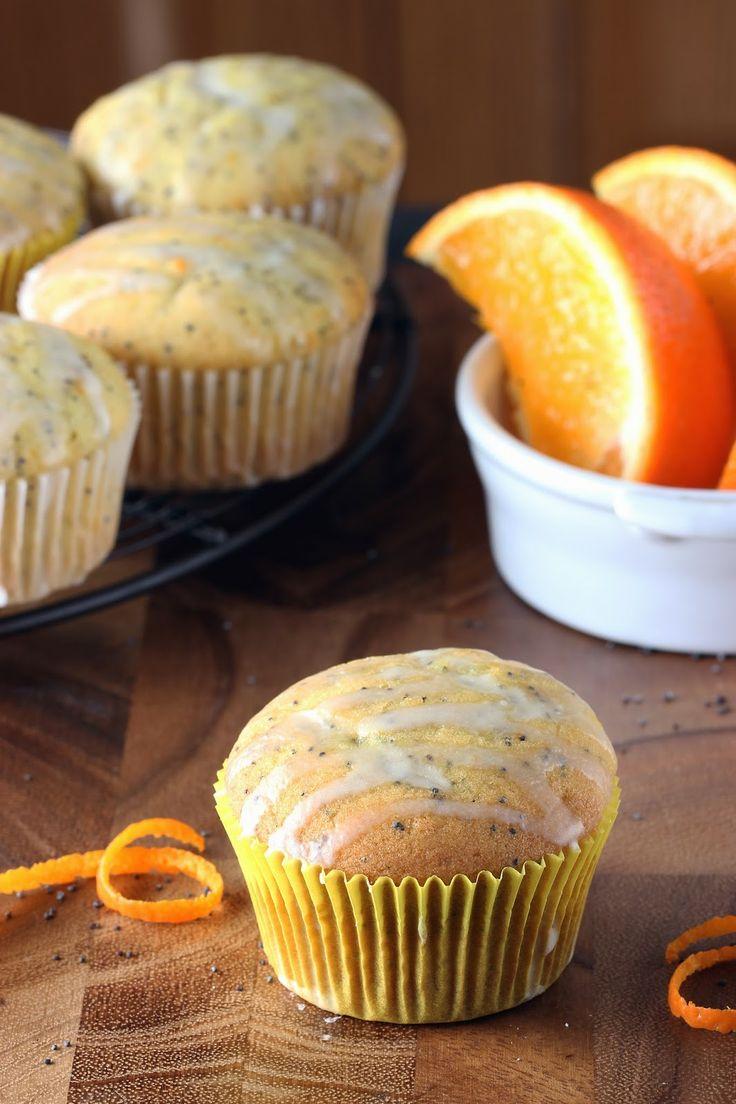 Orange Poppy Seed Muffins | Muffins & Buns | Pinterest