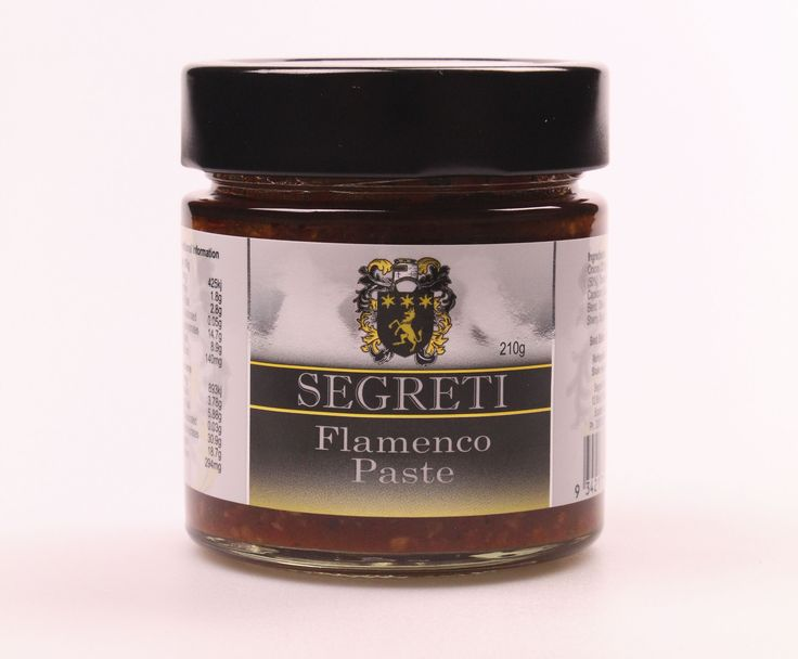 Segreti Australia's Flamenco Paste