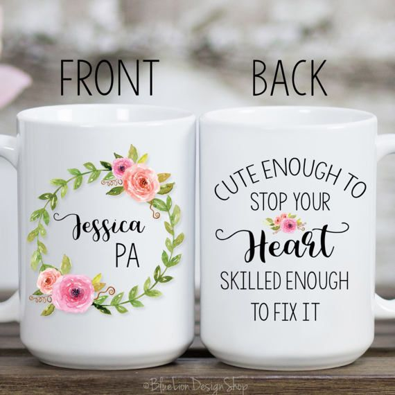 Physicians Assistant Mug, Physician Assistant Gift, Personalized Physicians Assistant Mug, Gifts for PA, PA-C Gift, Physician Assistant Cup