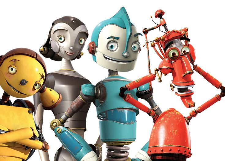 Cartoon Characters 2005 : Robots movie characters free download animated