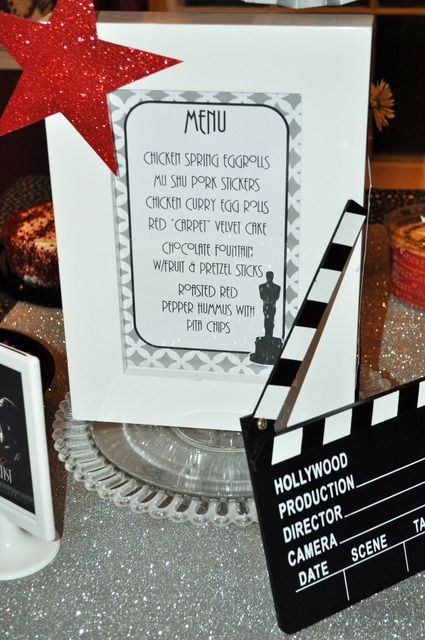 Exceptionnel 150 best Oscar Party ideas images on Pinterest | Birthdays, Movie  OJ68