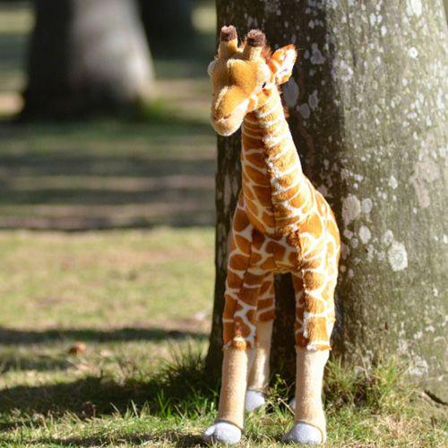 "27"" Plush Stuffed Giraffe Forest Zoo Animal Toy Kids Giftat EVToys.com"
