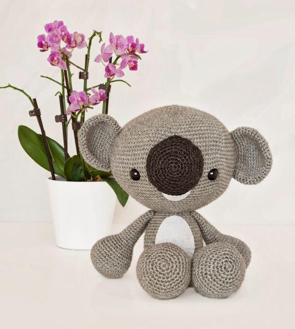 Llavero Koala Amigurumi : Mejores 1778 imagenes de Amigurumis crochet en Pinterest ...