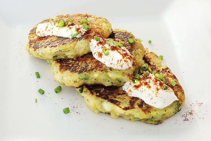Pancake de Papa y Brócoli: