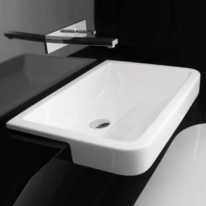 17 best ideas about semi recessed basin on pinterest for Studio bagno q toilet suite