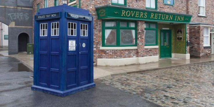 Coronation Street - must have missed this episode!  :)