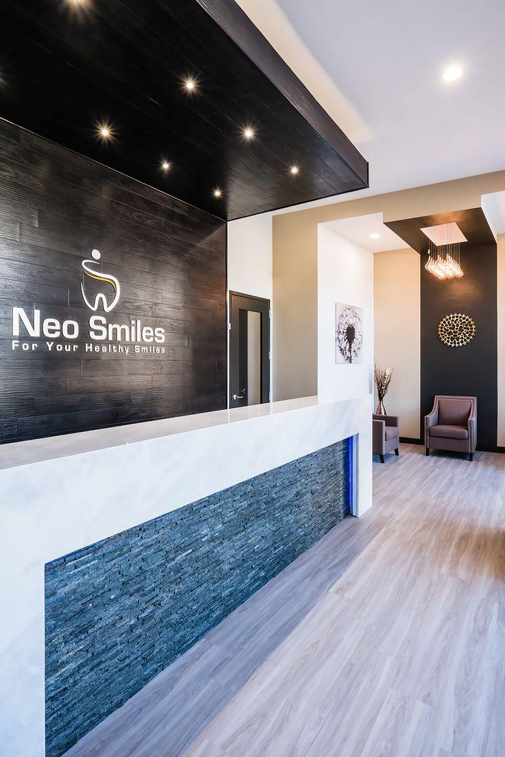 Neo Smiles Dental reception area interior