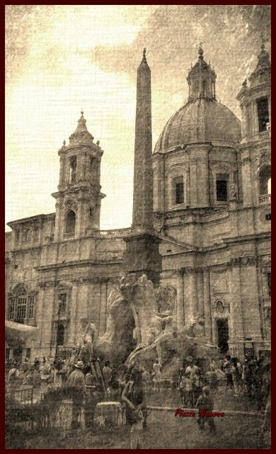 Roma P.zza Navona