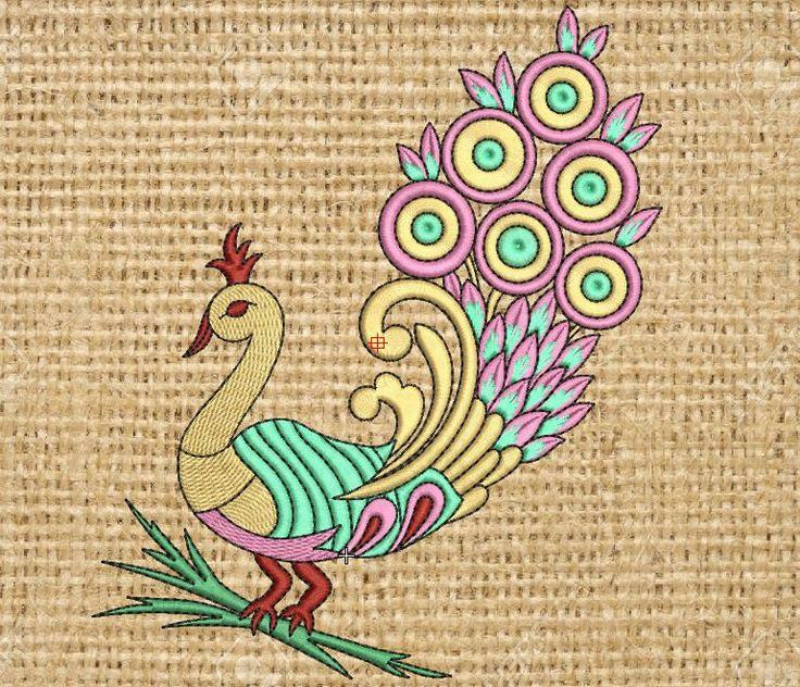 Goddess Kali Machine Embroidery Design