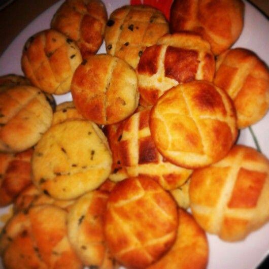 "Ramsons&potato ""pogácsa"""