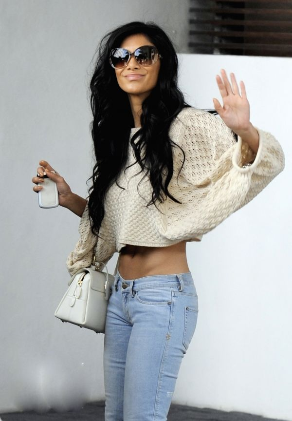 Nicole Scherzinger.. The absolute perfect body if you ask me